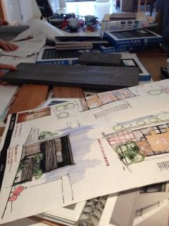 ただ今進行中「FOREST BARN ・横浜の家」