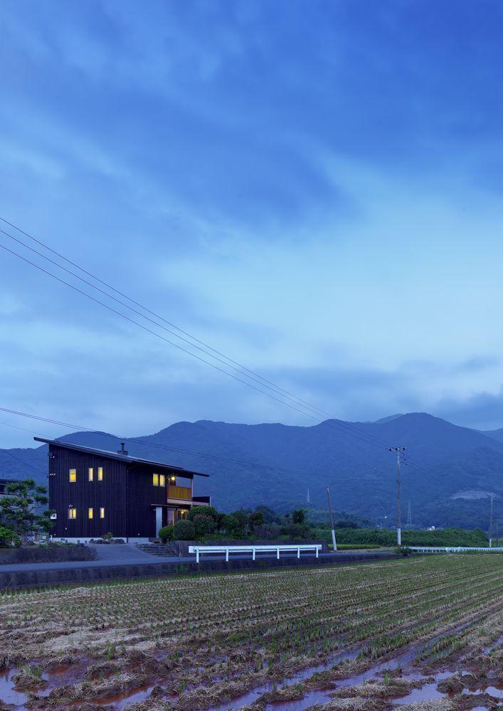 田園に暮らすフォレストバーンの家が完成しました。